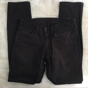 Levi's Man's 511 Slim Fit Commuter Collection Jeans Green pocket Black W 31 L 32
